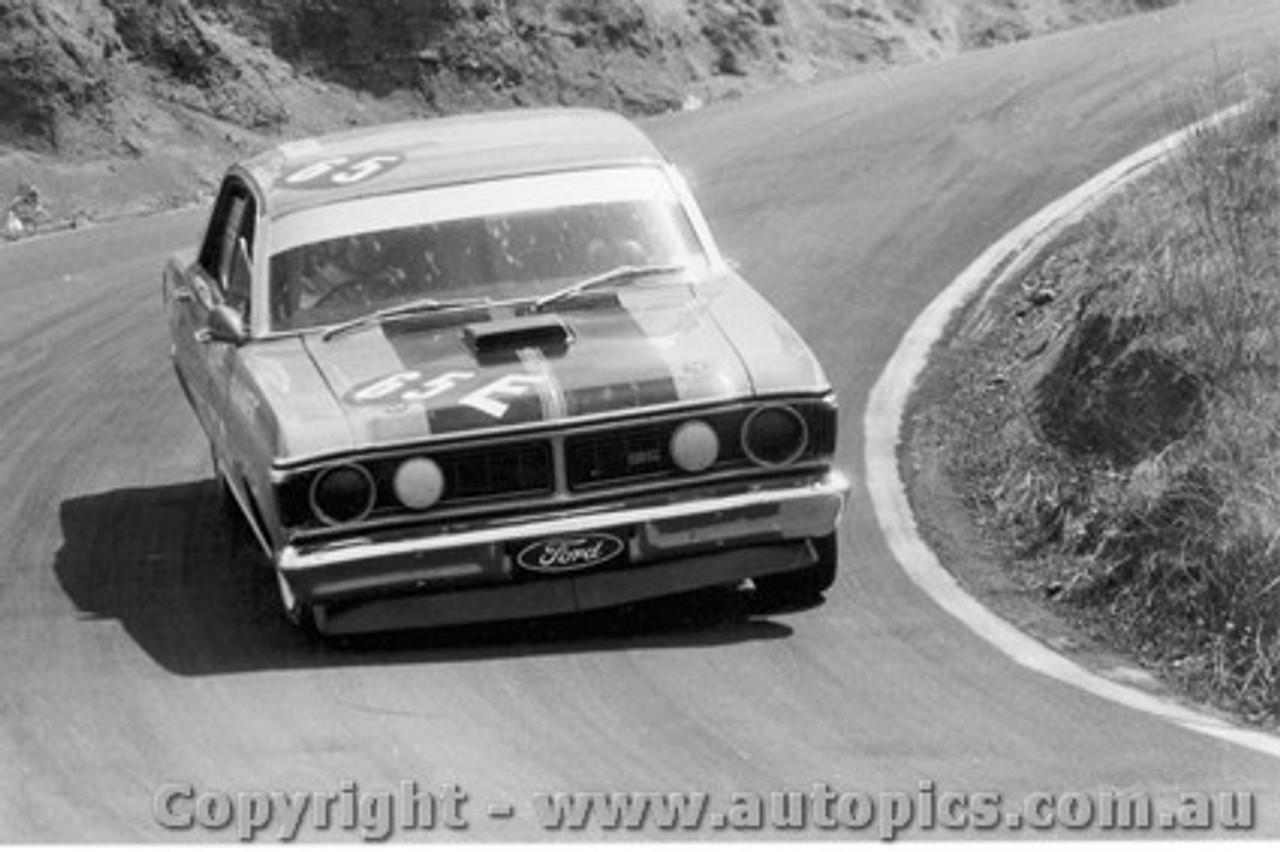 71704  -  Allan Moffat  -  Bathurst 1971 -1st Outright & Class E winner - Ford Falcon GTHO Phase 3