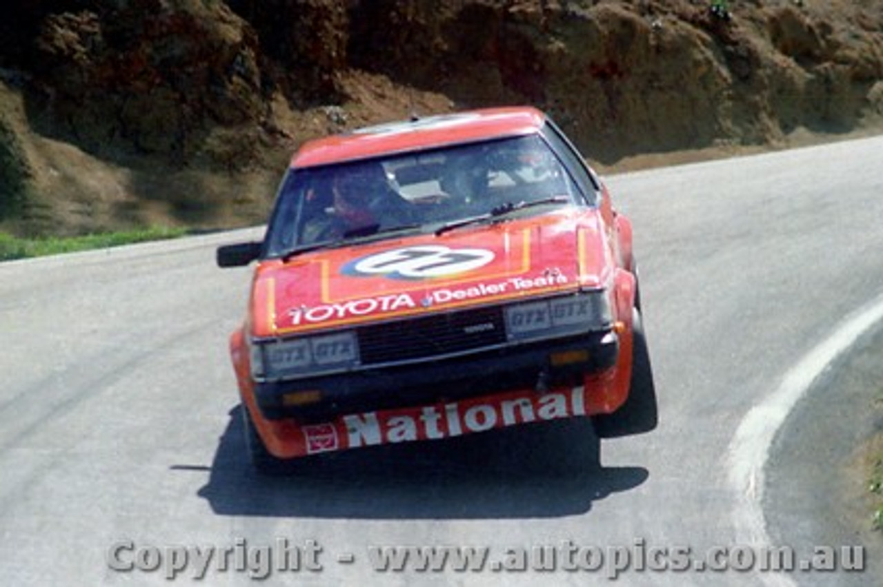 81706  -  P. Willimson / J. Smith    Bathurst 1981  Class C Winner  Toyota Celica