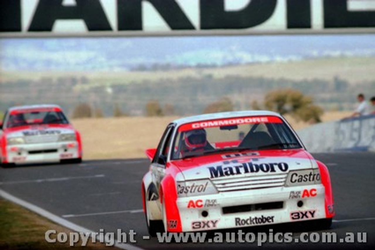 84708  -  Brock / Perkins     Bathurst 1984  1st Outright Winner  Holden Commodore VK