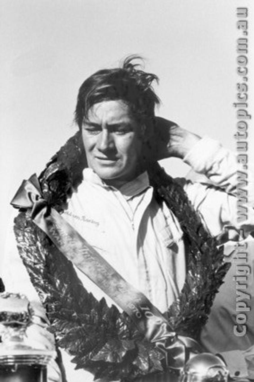 70607  -  Kevin Bartlett   Tasman Race Winner  70  Warwick Farm  1970 - Photographer David Blanch