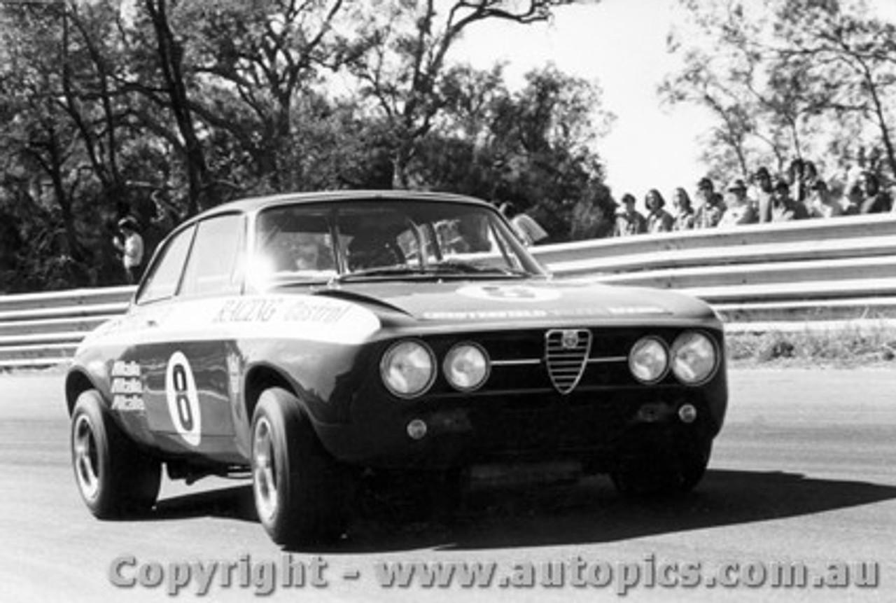71027 - Brian Foley - Alfa Romeo GTAM - Warwick Farm 1971
