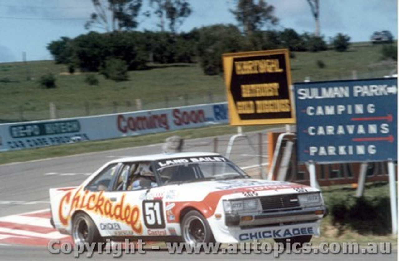 81717 - Land / Bailey - Bathurst 1981 - Toyota Celica