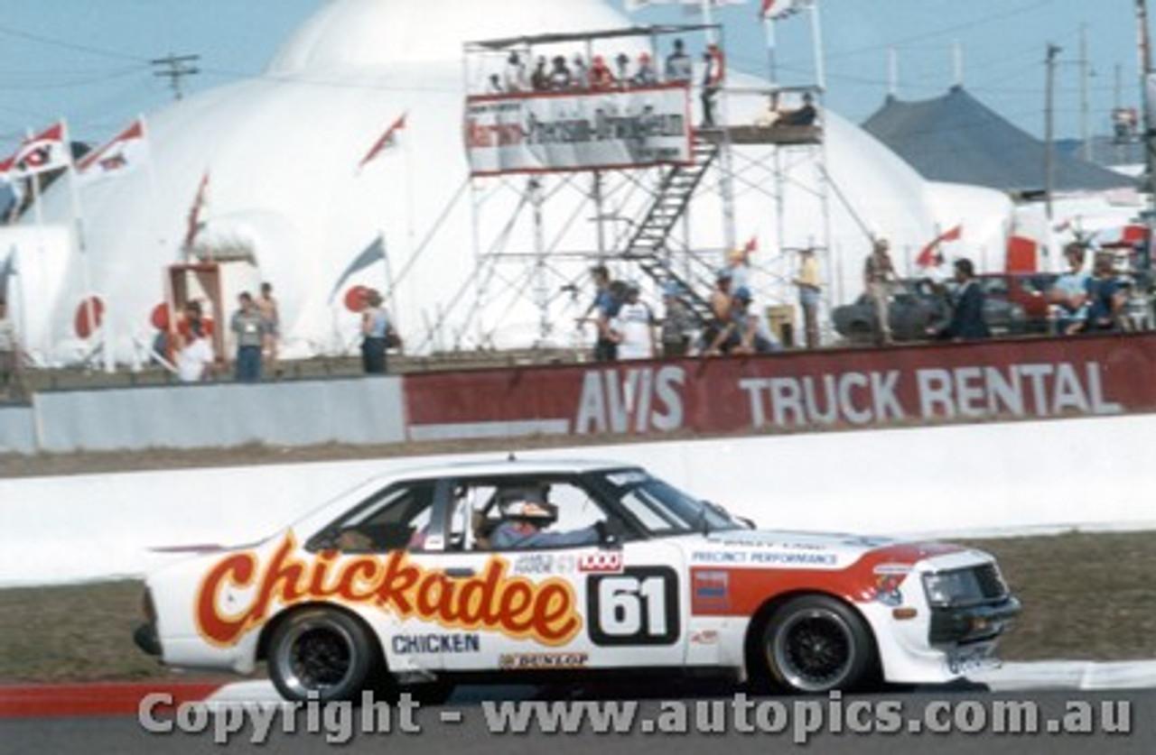 82711 - Land / Bailey - Bathurst 1982 - Toyota Celica