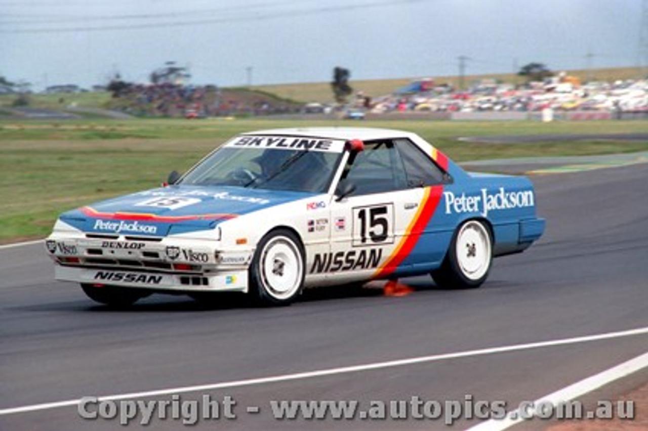 87002-  G. Seton - Calder 1987 - Nissan Skyline