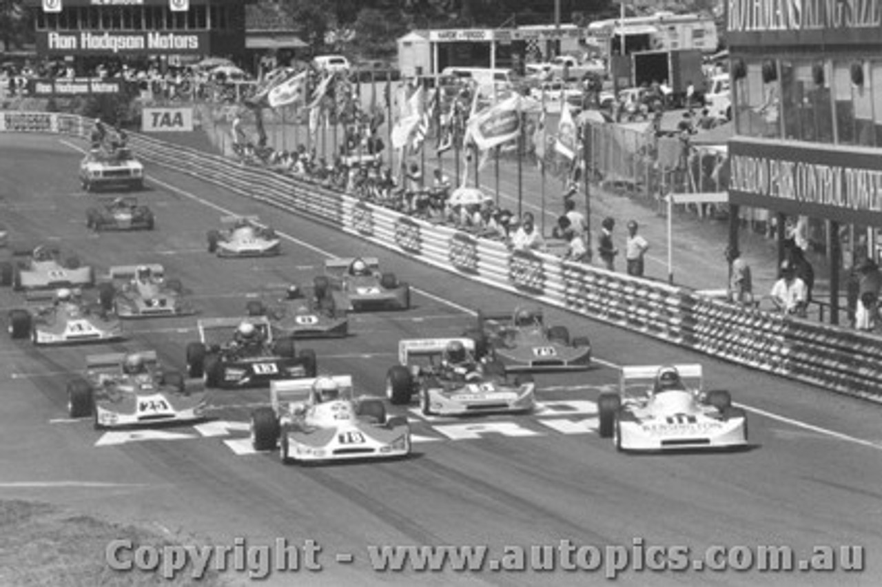 79401 - First Lap Formula Two Series Amaroo Park 11/3/79 - 78 Sampson 11 Richards 5 Engel 25 Macrow all in Cheetahs