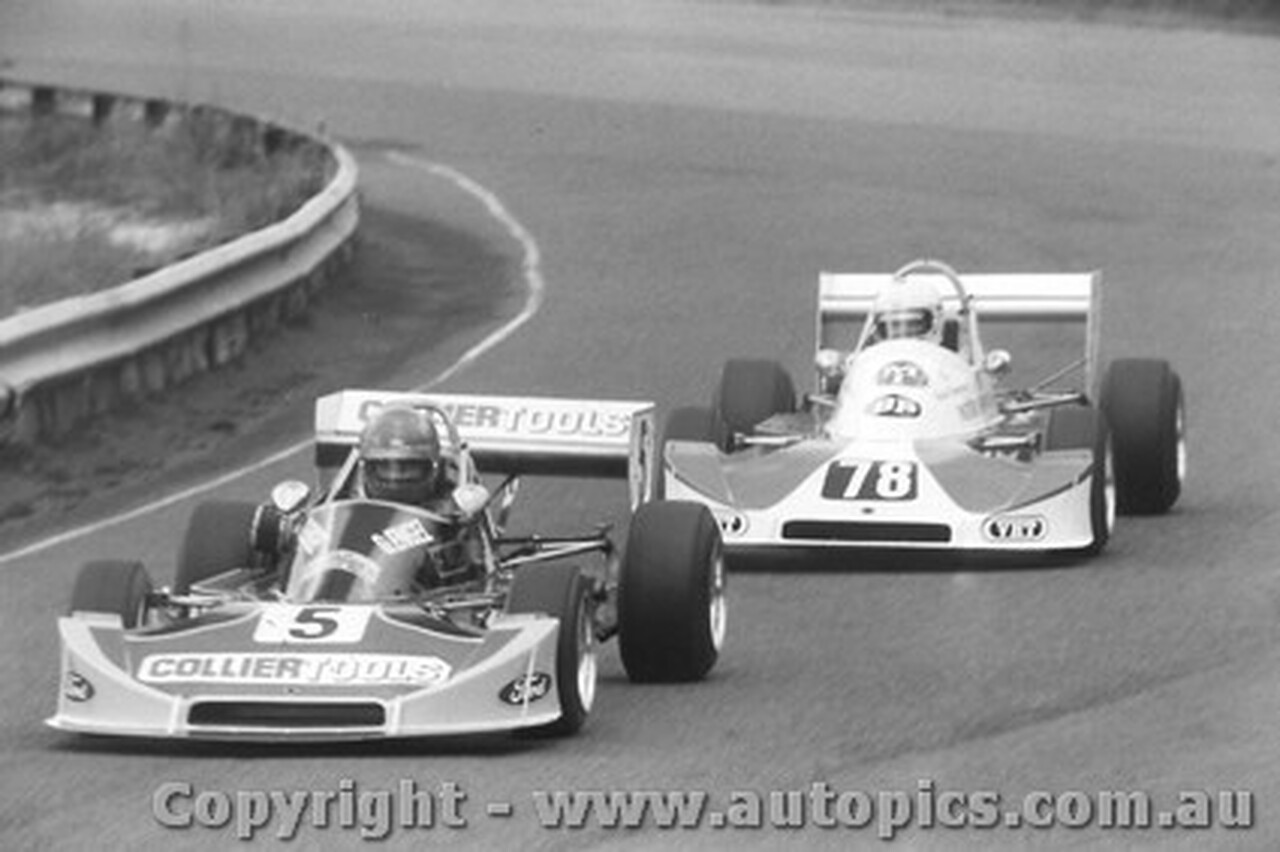 79403 - G. Engel / B. Sampson Cheetah -  Formula Two Series Amaroo Park 20/5/79