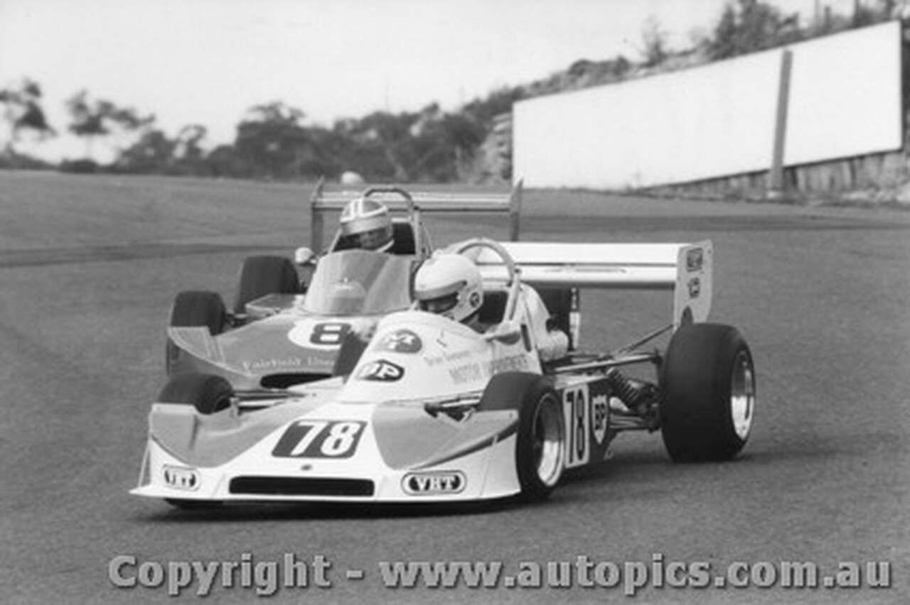 79404 - B. Sampson / T. Finnigan Cheetah -  Formula Two Series Amaroo Park 12/8/79 Slight negative damage