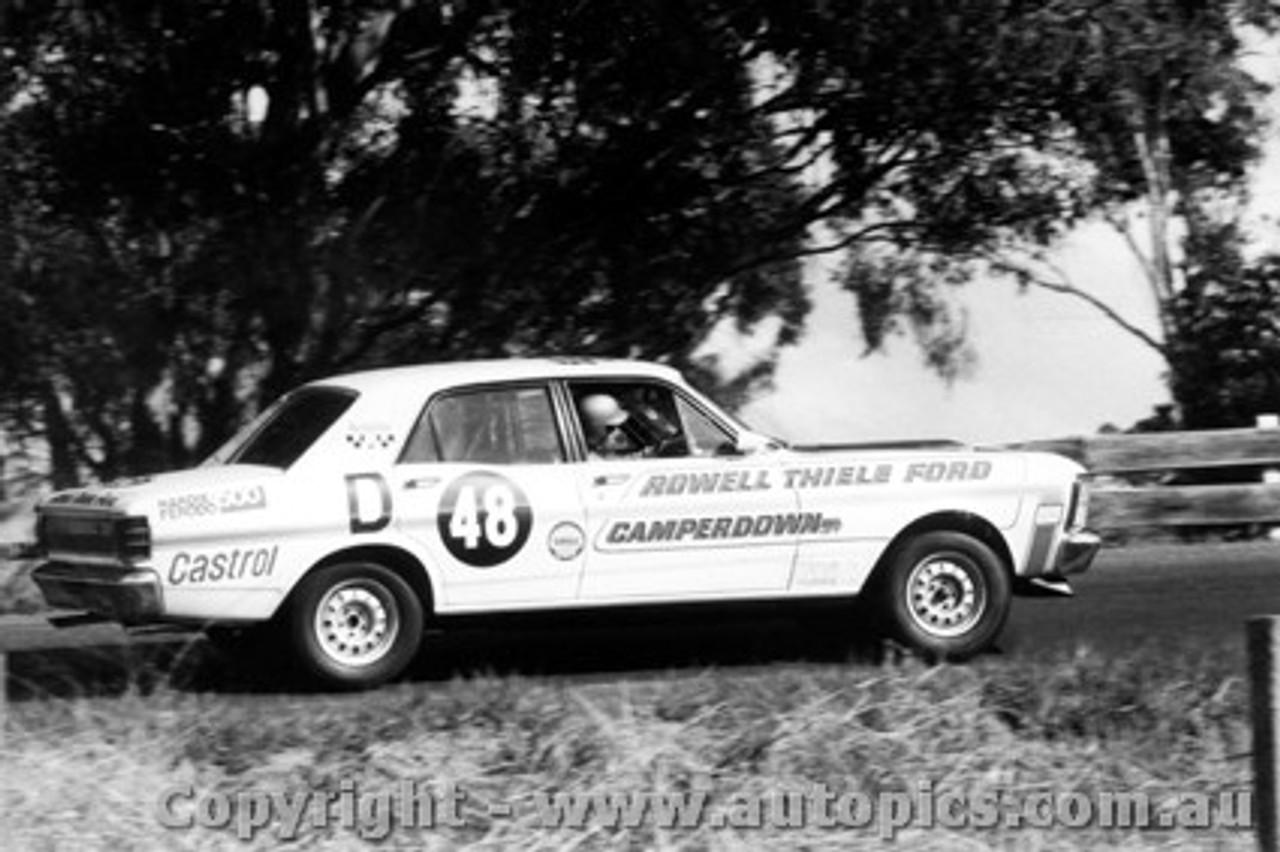 69729 - Savva / Wilkinson - Ford Falcon GTHO - Bathurst 1969