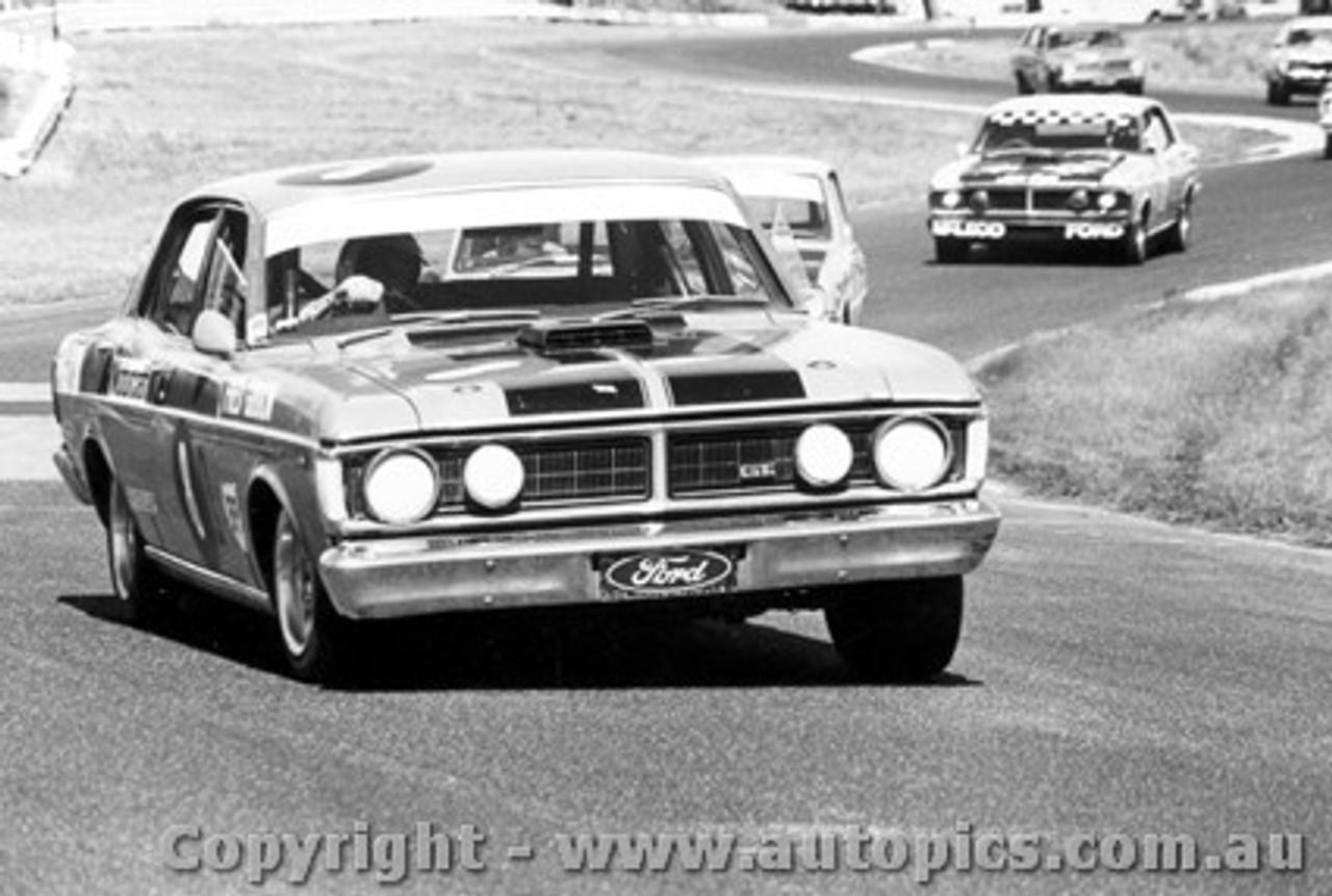 72046 - Fred Gibson - Ford Falcon GTHO Phase 3 - Sandown 1972