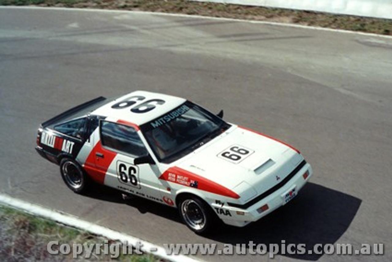 84726 - Bartlett / Fitzgerald  Mitsubishi Starion -  Bathurst 1984