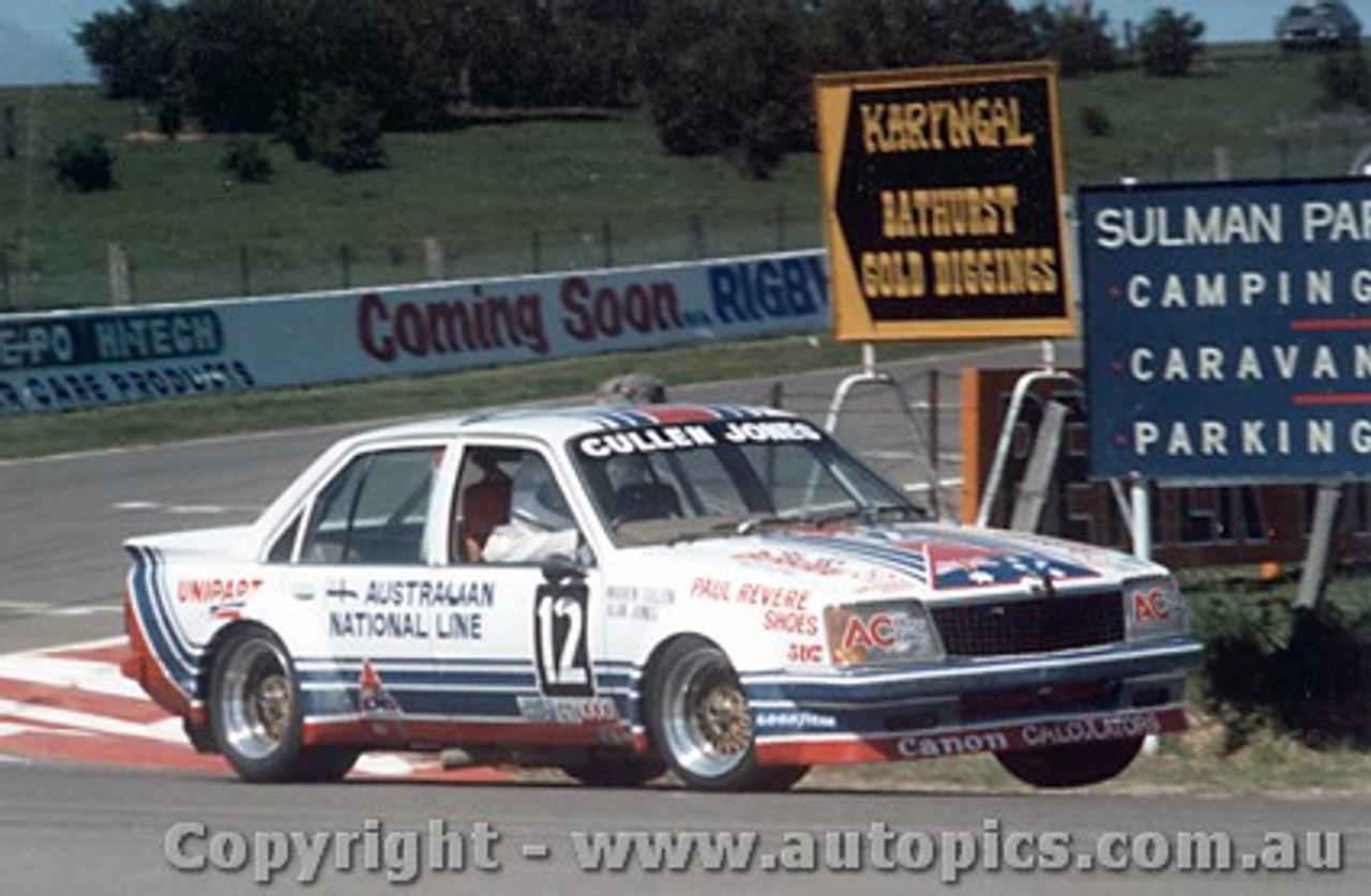 81723 - W. Cullen / A. Jones  -  Holden Commodore VC  Bathurst  1981