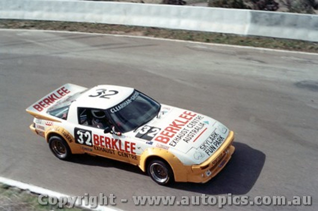 84732 - Clearihan / Grose  Mazda RX7 -  Bathurst 1984