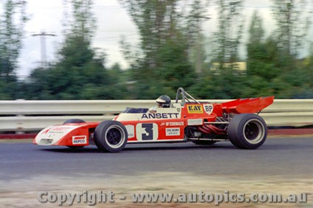 72633 - J. McCormack Elfin MR5 - Sandown  1972