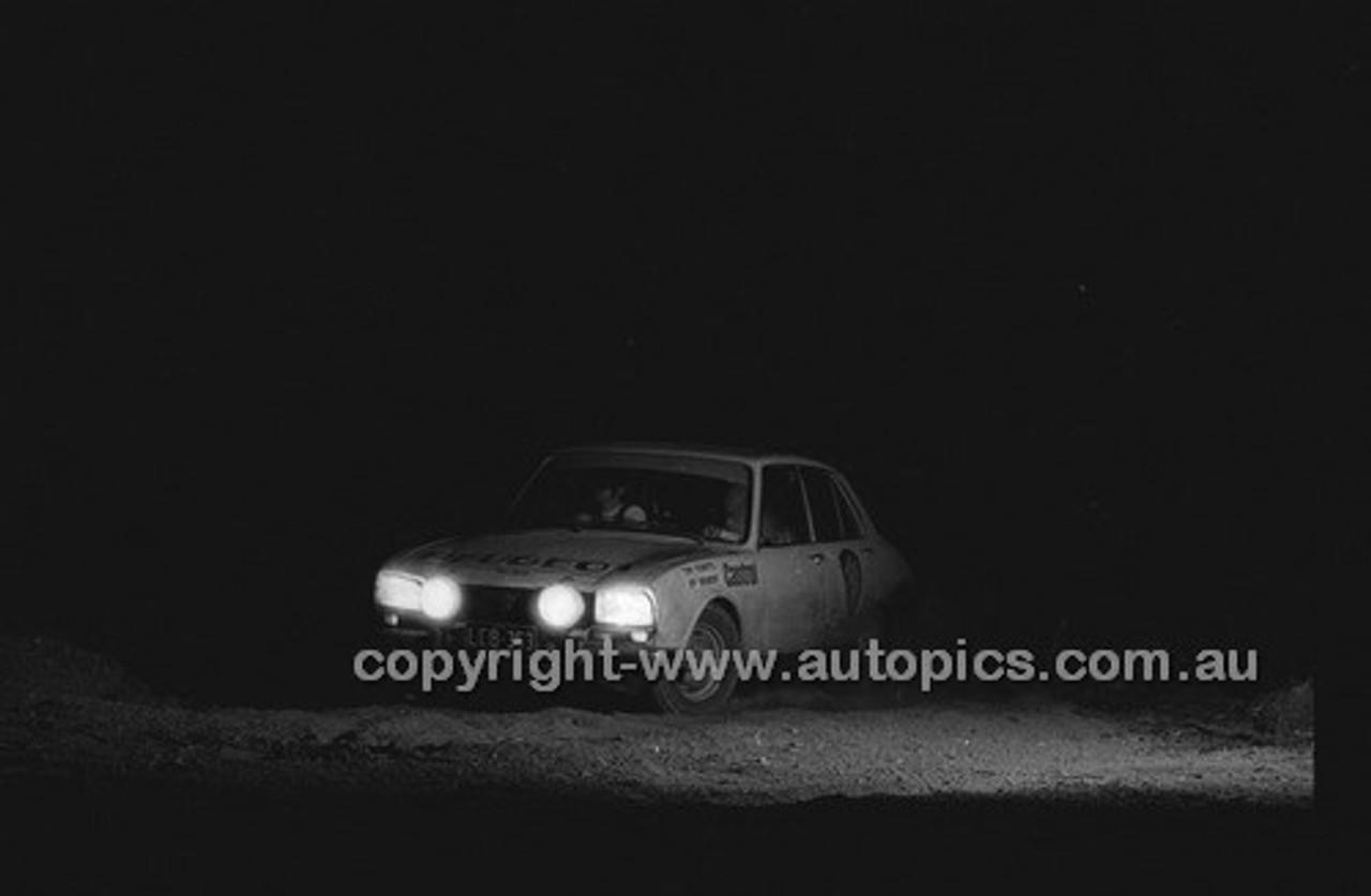 Bunburry Rally 1973 - Code - 73-T-Bunburry-003
