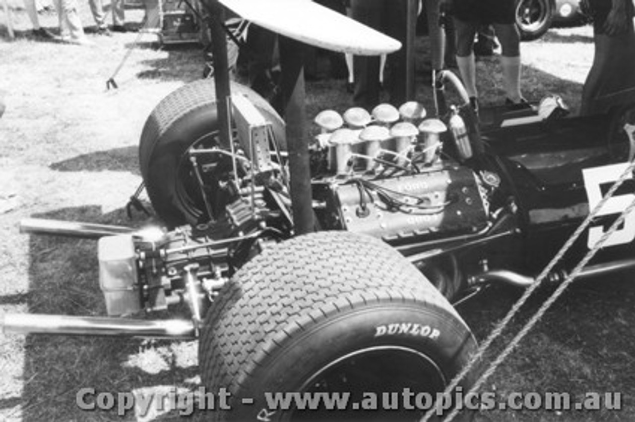 69535 - Piers Courage - Brabham BT24 - Warwick Farm 1969