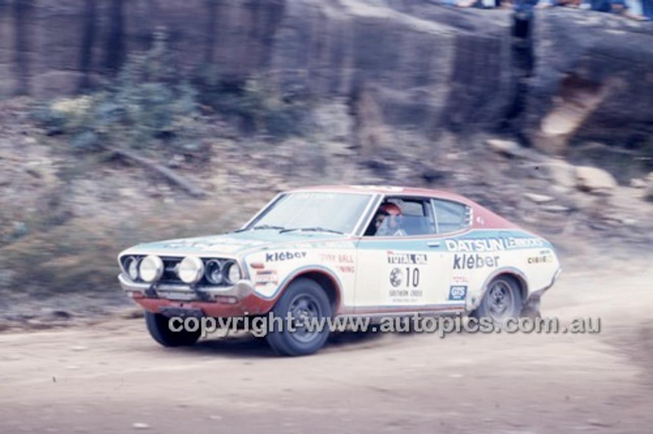 Southern Cross Rally 1978 - Code -78-T-SCross-020