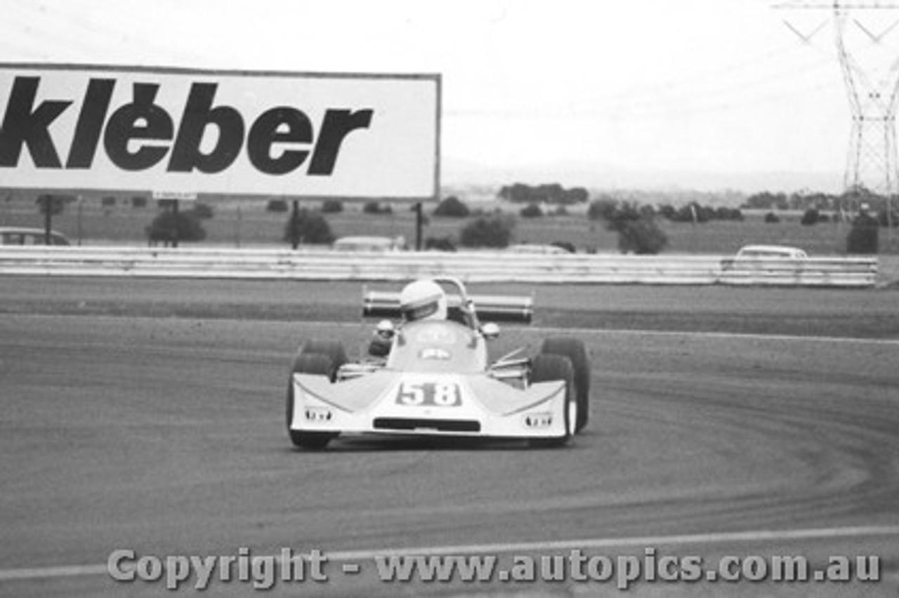 79412 -  B. Shead Cheetah MK8  - Calder 1979