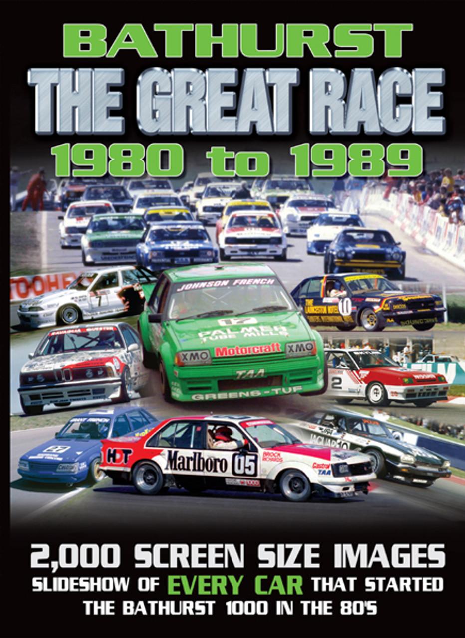 131 - Bathurst 1980 to 1989 - Slideshow DVD - $30.00