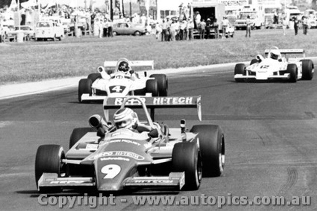 81522 - N. Piquet /  J.  Bowe  /  G. Brabham - All in Ralt RT4 s - AGP Calder 1981