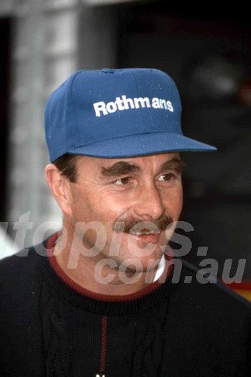 94511 - Nigel Mansell, AGP Adelaide 1994 - Photographer Ray Simpson