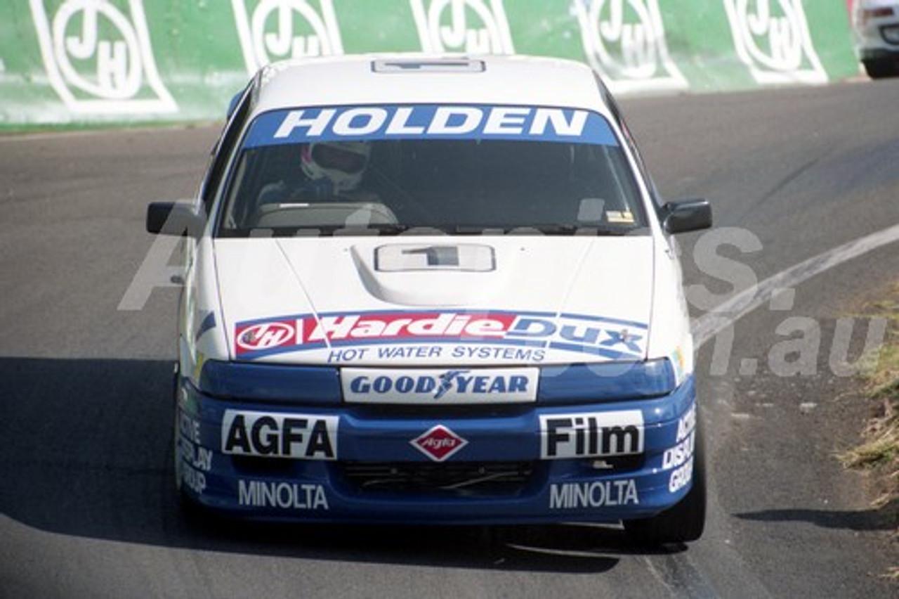 92055 -  Peter Fitzgerald / Jim Zerefos / Brett Peters, Holden VN Commodore SS - Bathurst 12 Hour 1992 - Photographer Ray Simpson