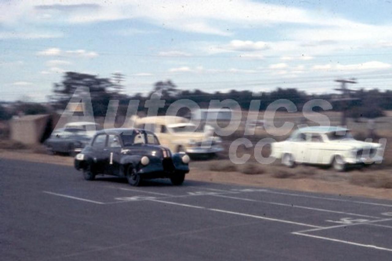 58019 - Ian Geoghegan - Holden FX - Orange 1958
