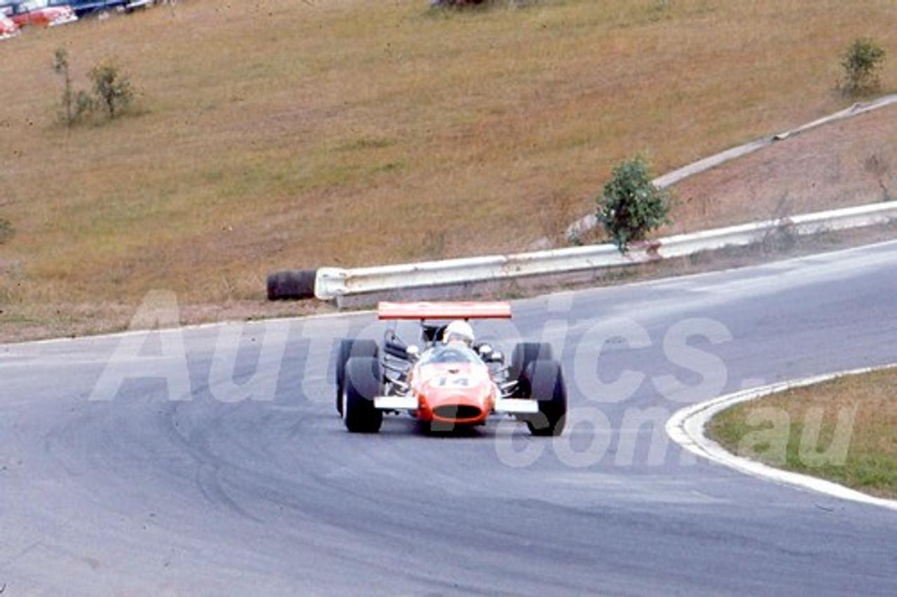 701060 -  Col Green, Repco Brabham Climax - Oran Park 1970 - Photographer Bob Jess