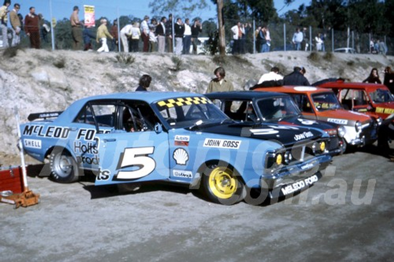 72393 - John Goss Falcon GTHO Phase 3 - Amaroo 1972 - Photographer Bob Jess