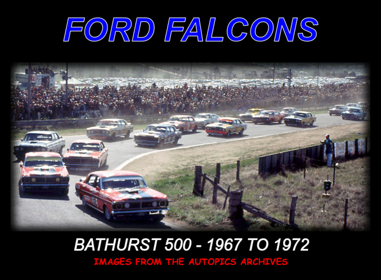 !Ford GT's - Bathurst '67 to '72 - 80 Page Hard Cover Book - Pictorial History