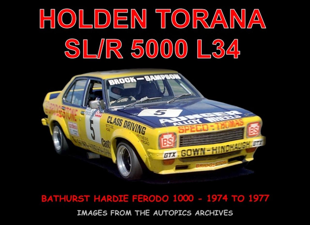 !Torana SL/R 5000 L34 - 60 Page Hard Cover Book - Pictorial History
