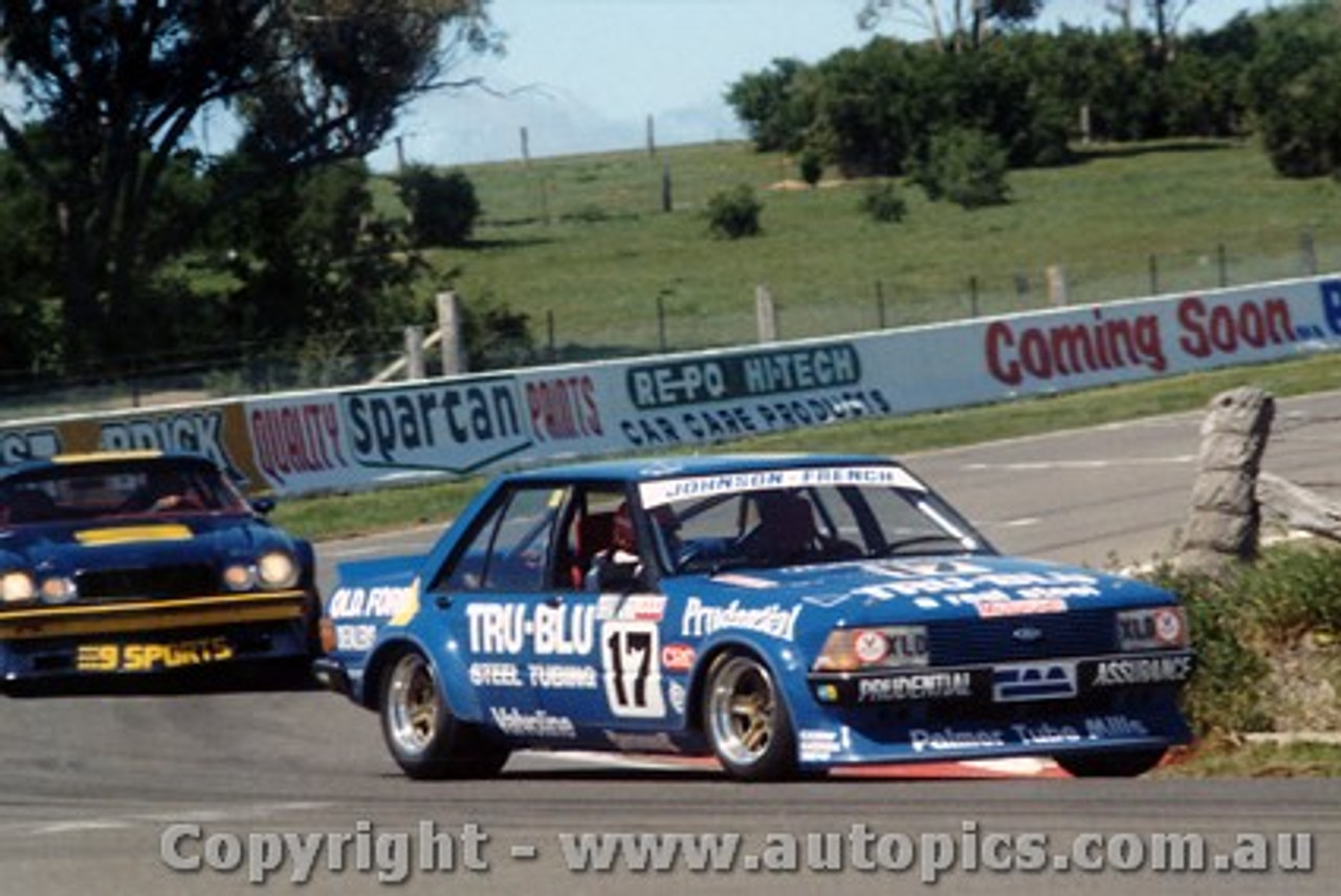 81732  -  Johnson / French  -  Bathurst 1981 - 1st Outright - Ford Falcon XD