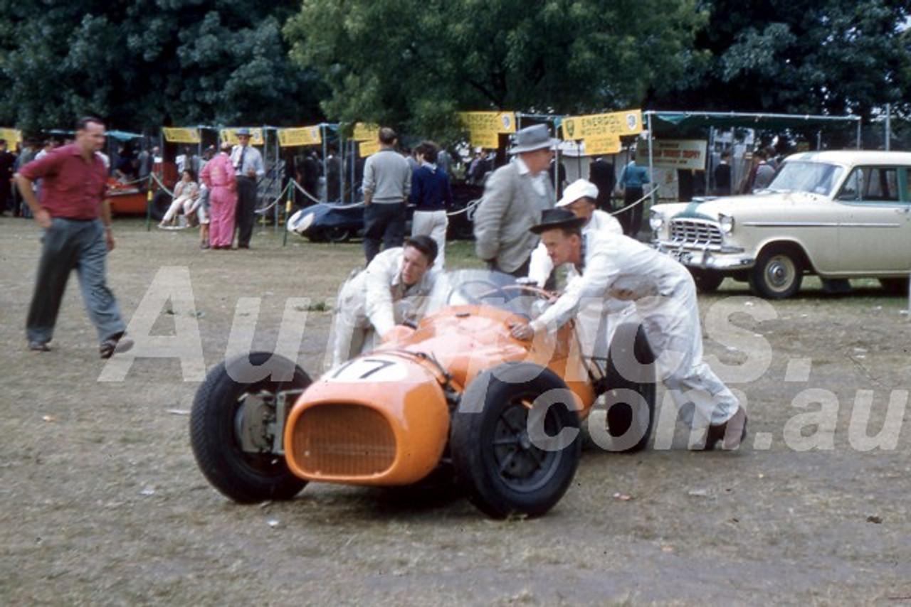58120 - Jack Myers, WM Special Waggott Holden - Melbourne Grand Prix  Albert Park 1958 - Photographer Barry Kirkpatrick