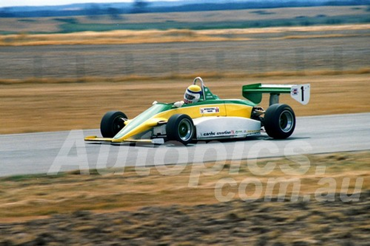 87096 - John Crooke, Cheetah 8 -  Symmons Plains 8th March 1987 - Photographer Keith Midgley