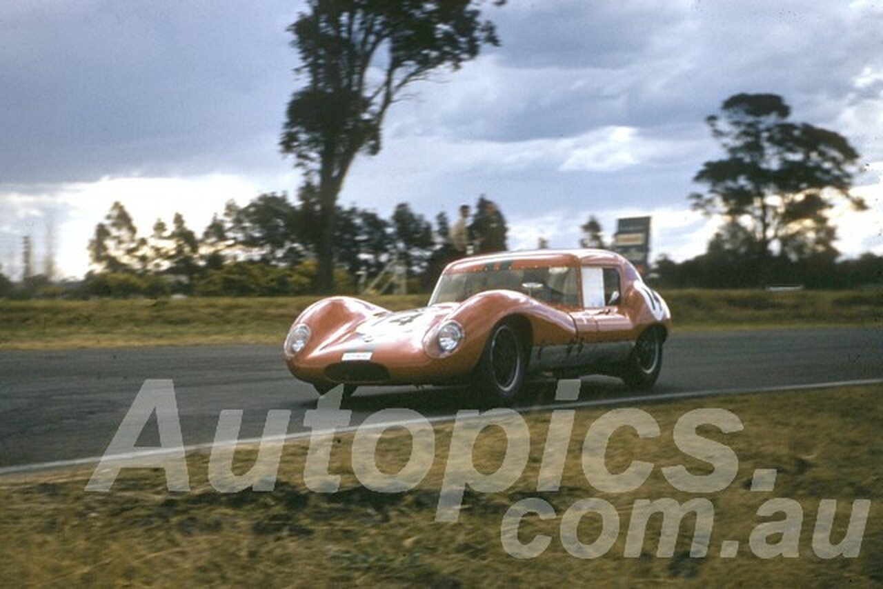 61052 - David McKay - Lola GT- Warwick Farm 1961 - Photographer Peter Wilson
