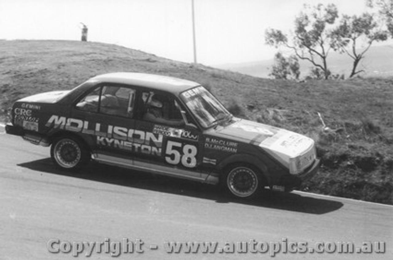 80732 - B. McClure / D. Langman Holden Gemini - Bathurst 1980