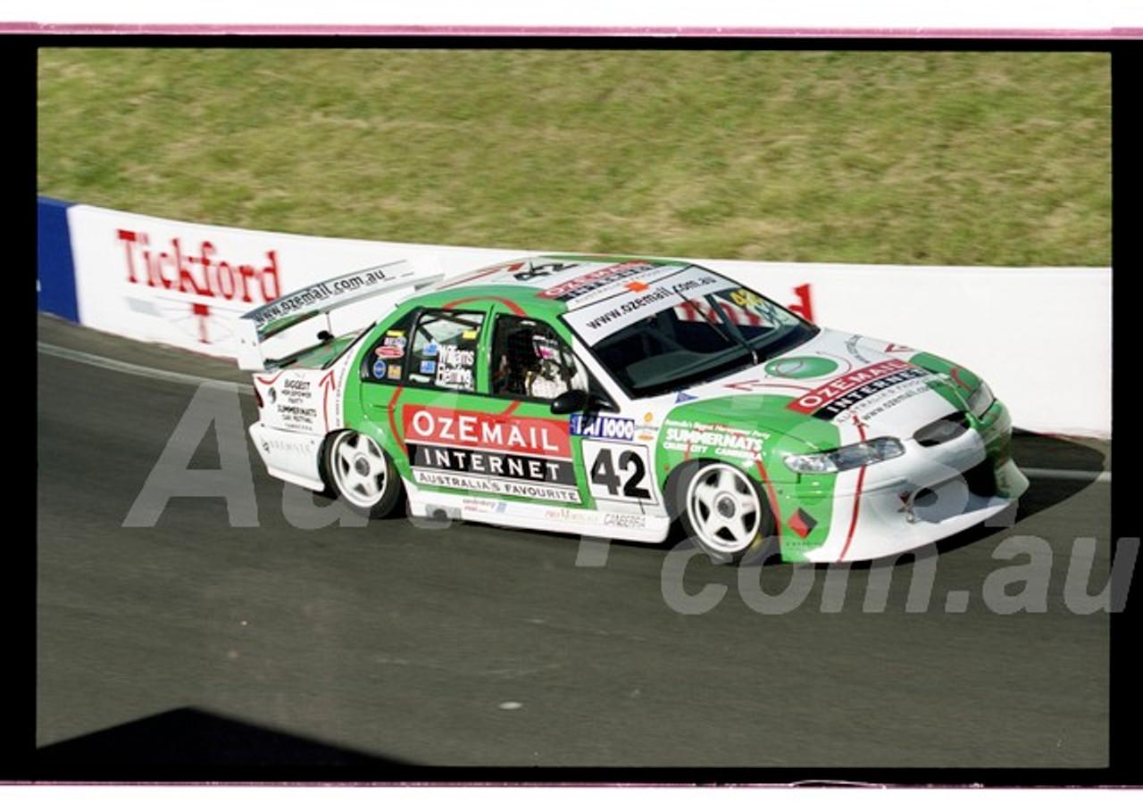 Bathurst FIA 1000 15th November 1999 - Photographer Marshall Cass - Code 99-MC-B99-1286