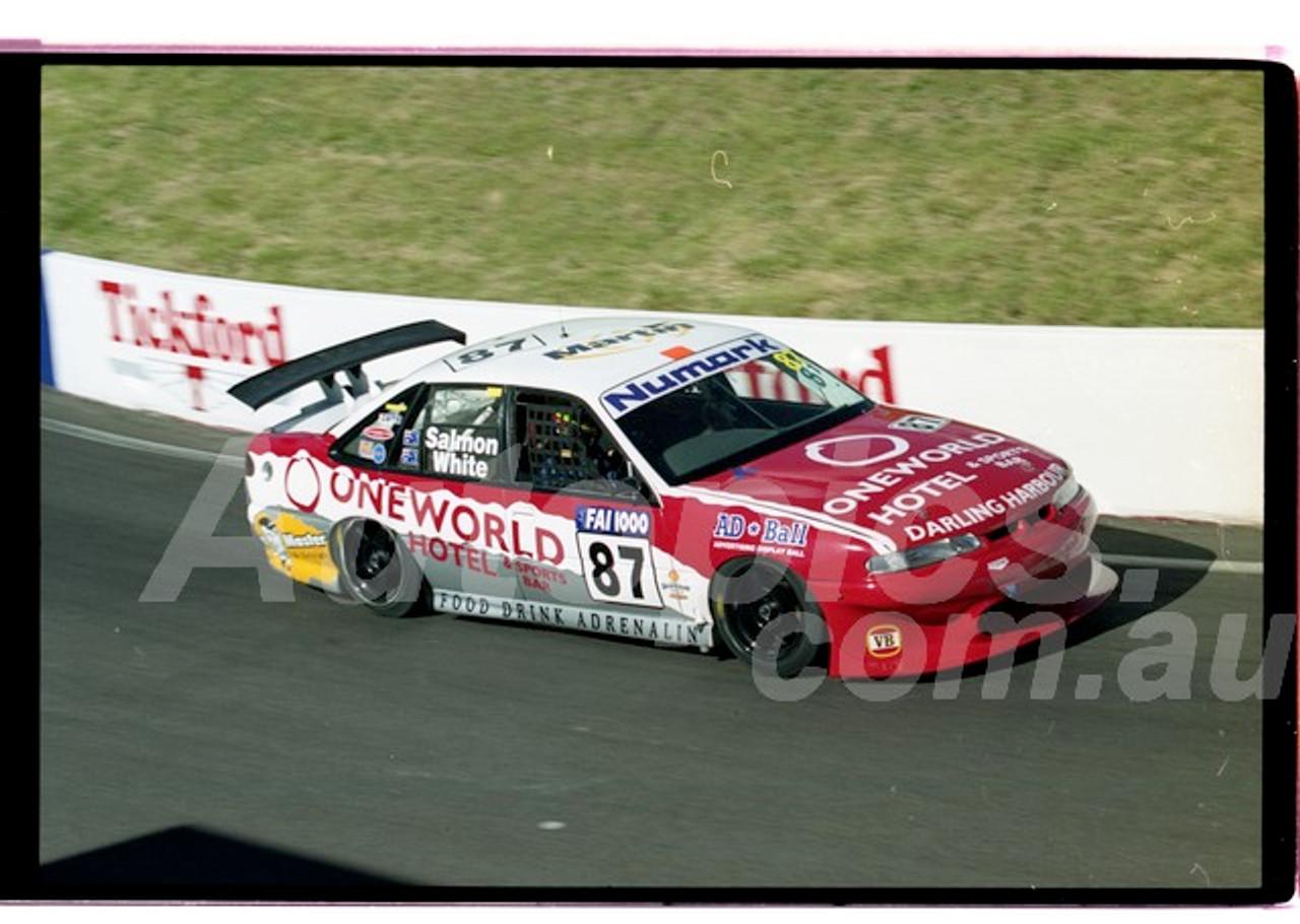Bathurst FIA 1000 15th November 1999 - Photographer Marshall Cass - Code 99-MC-B99-1288