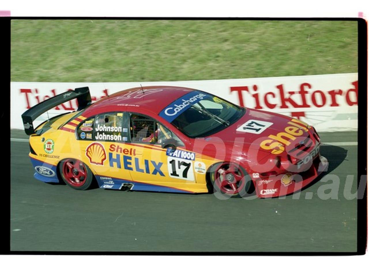 Bathurst FIA 1000 15th November 1999 - Photographer Marshall Cass - Code 99-MC-B99-1294