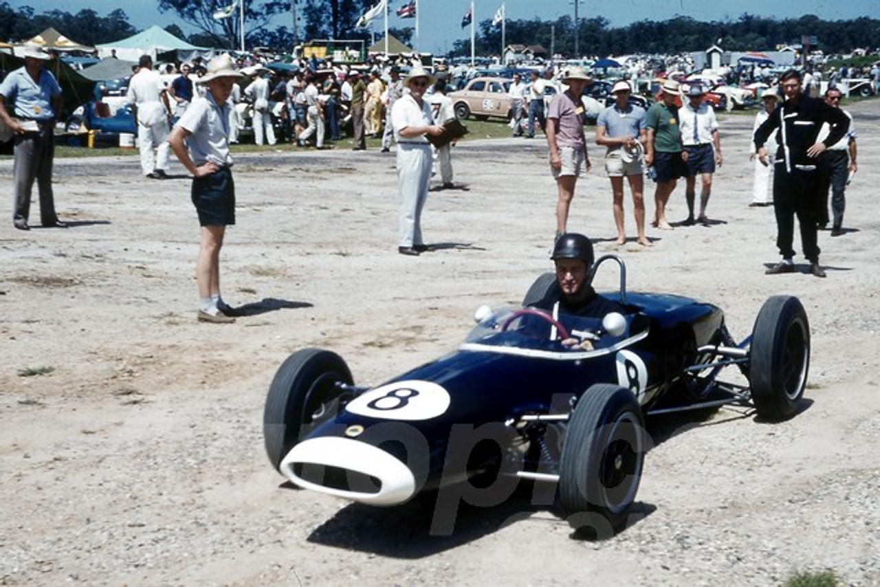 61541 - Leo Geoghegan, Lotus 20 - Lowood 1961 - Jim Bertram Collection