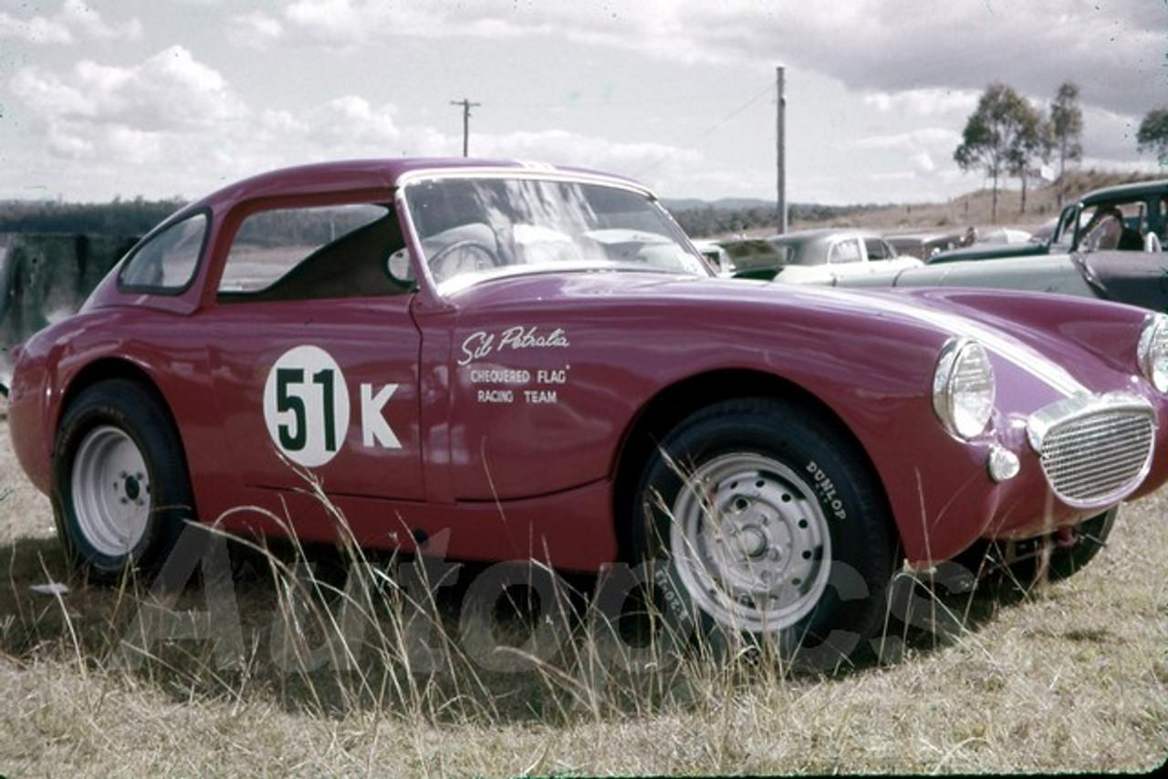 62039 - Sib Petralia, Austin Healey Sprite - Lakeside 1962- Jim Bertram Collection