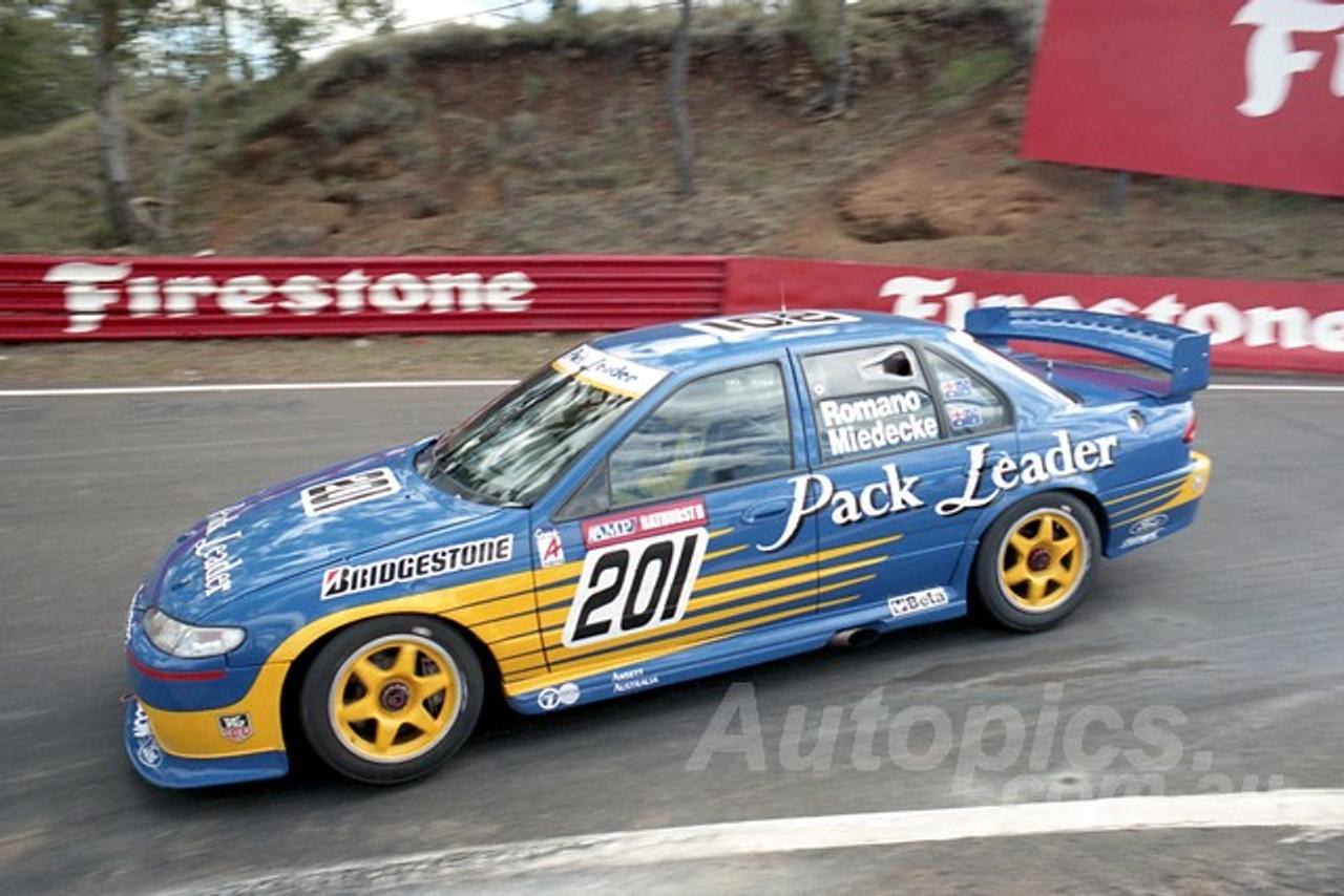 96840 - PAUL ROMANO / ANDREW MIEDECKE - Falcon EF - AMP Bathurst 1000 1996 - Photographer Marshall Cass