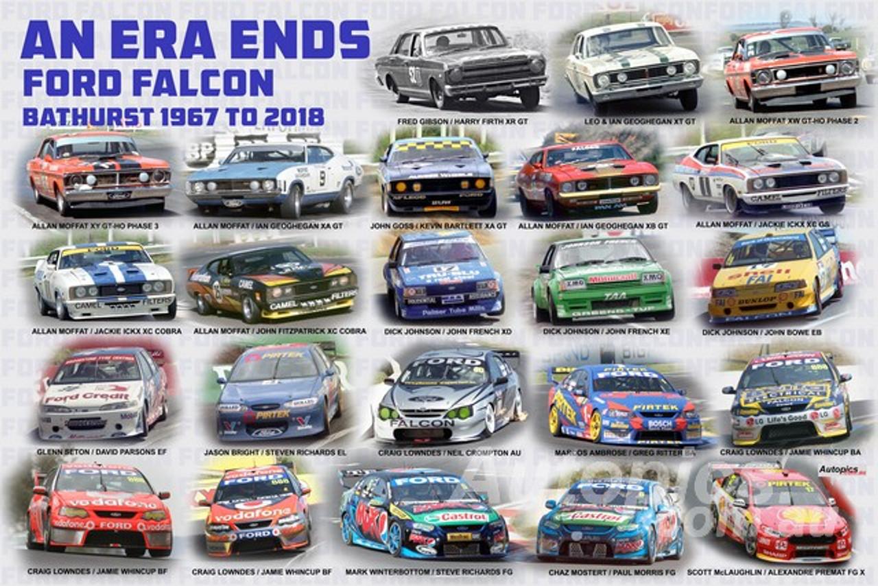 1196 - An Era Ends - Ford Falcon Bathurst 1967 to 2018