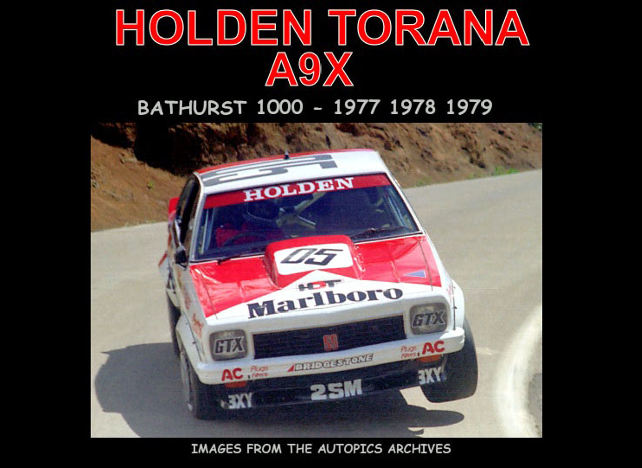!Holden Torana A9X - 80 Page Hard Cover Book - Pictorial History