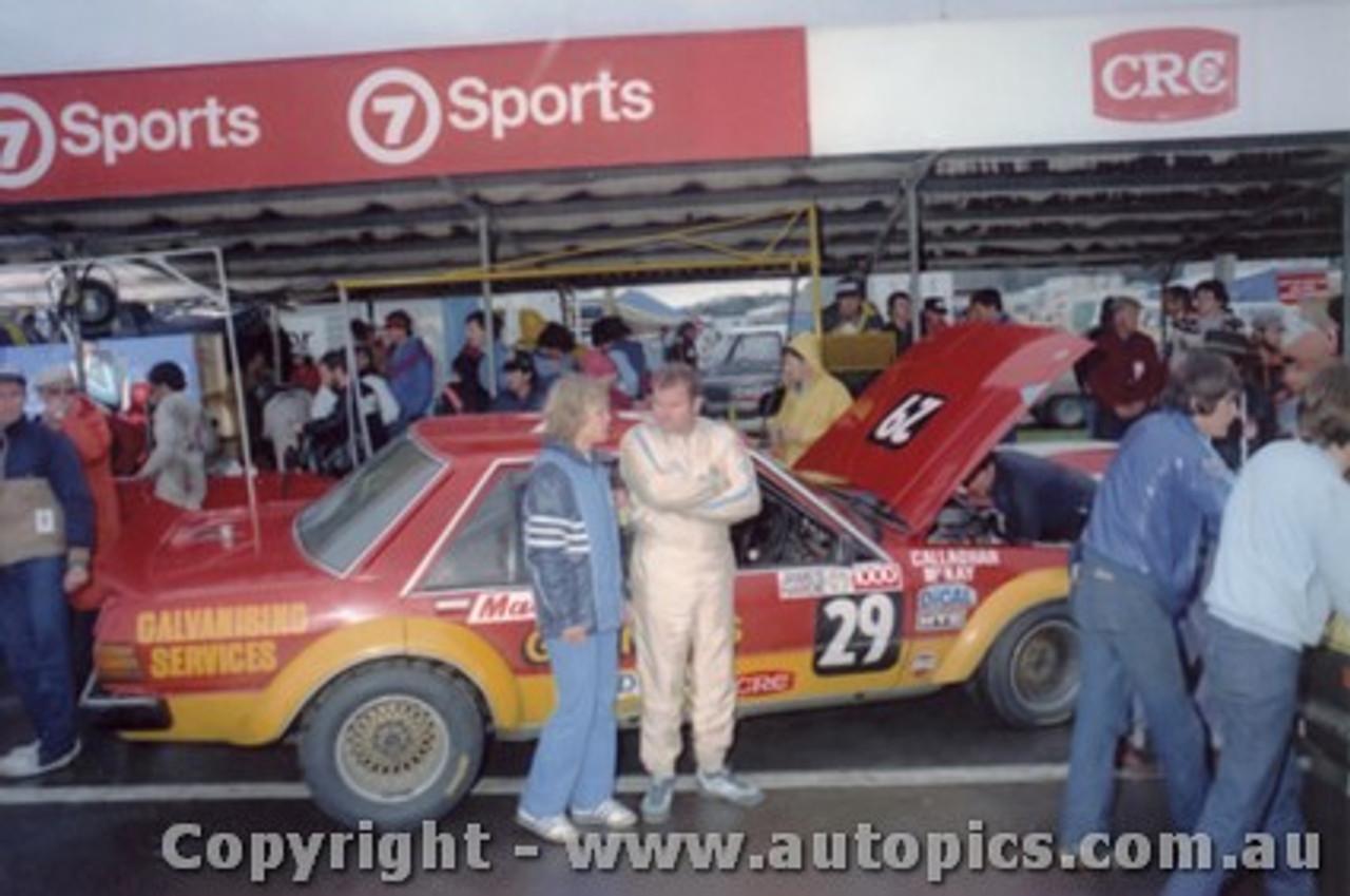 81741  - Callaghan / McKay  - Ford Falcon XD -  Bathurst 1981