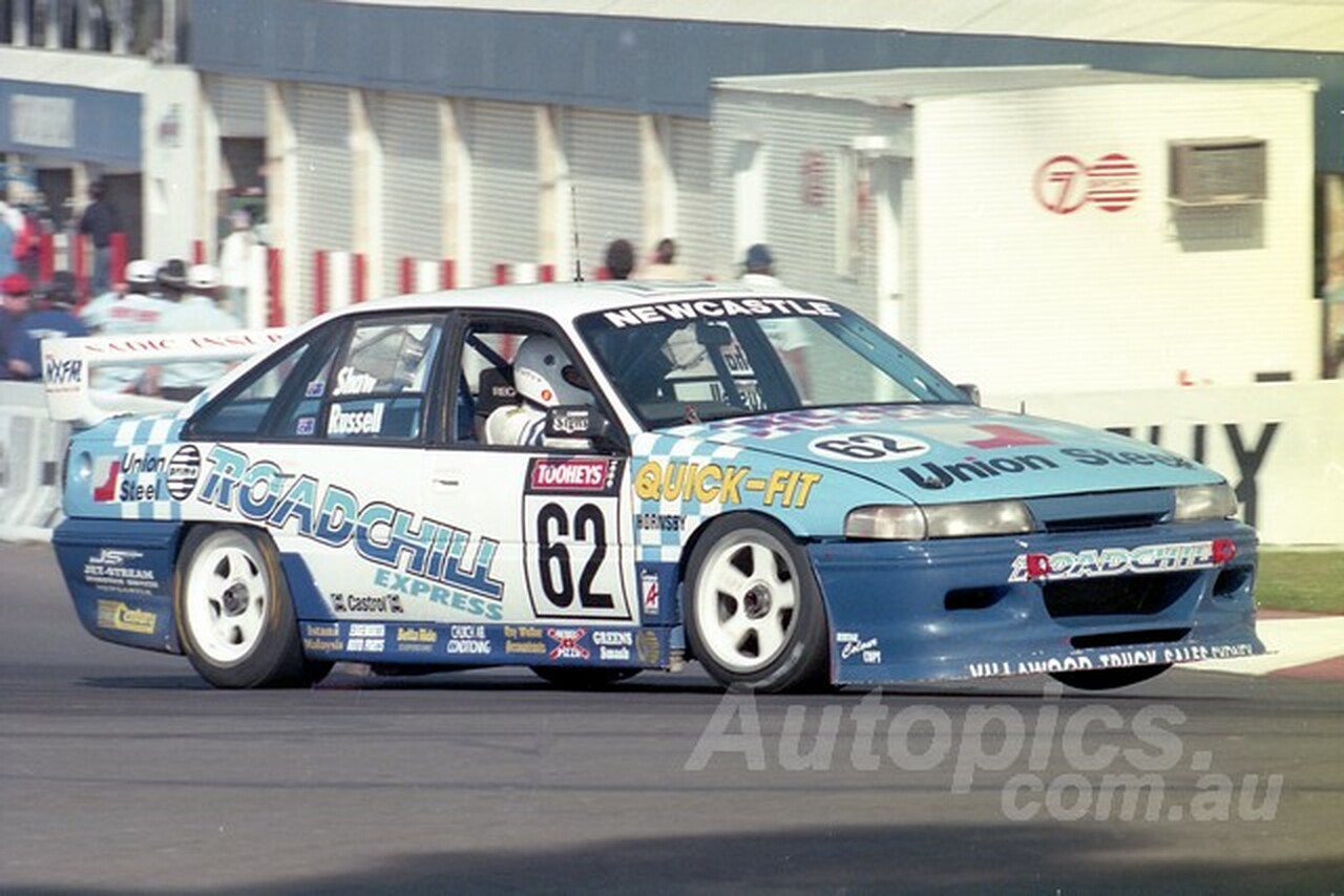 95822 - WAYNE RUSSELL / RIC SHAW -  COMMODORE VP -  Tooheys 1000 - Bathurst 1995 - Photographer Marshall Cass