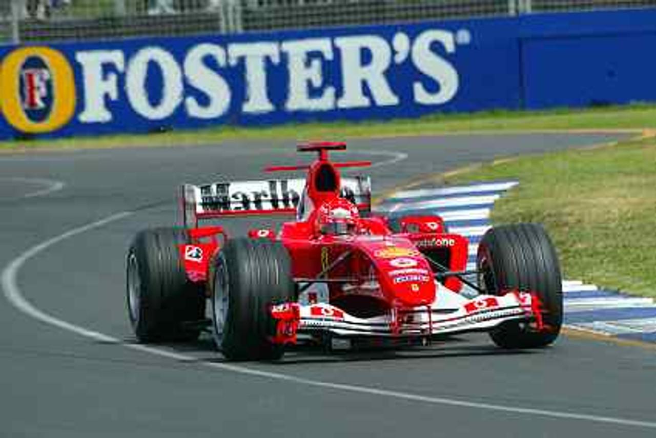 204501 - Michael Schumacher - Ferrari - Winner Australian Grand Prix 2004