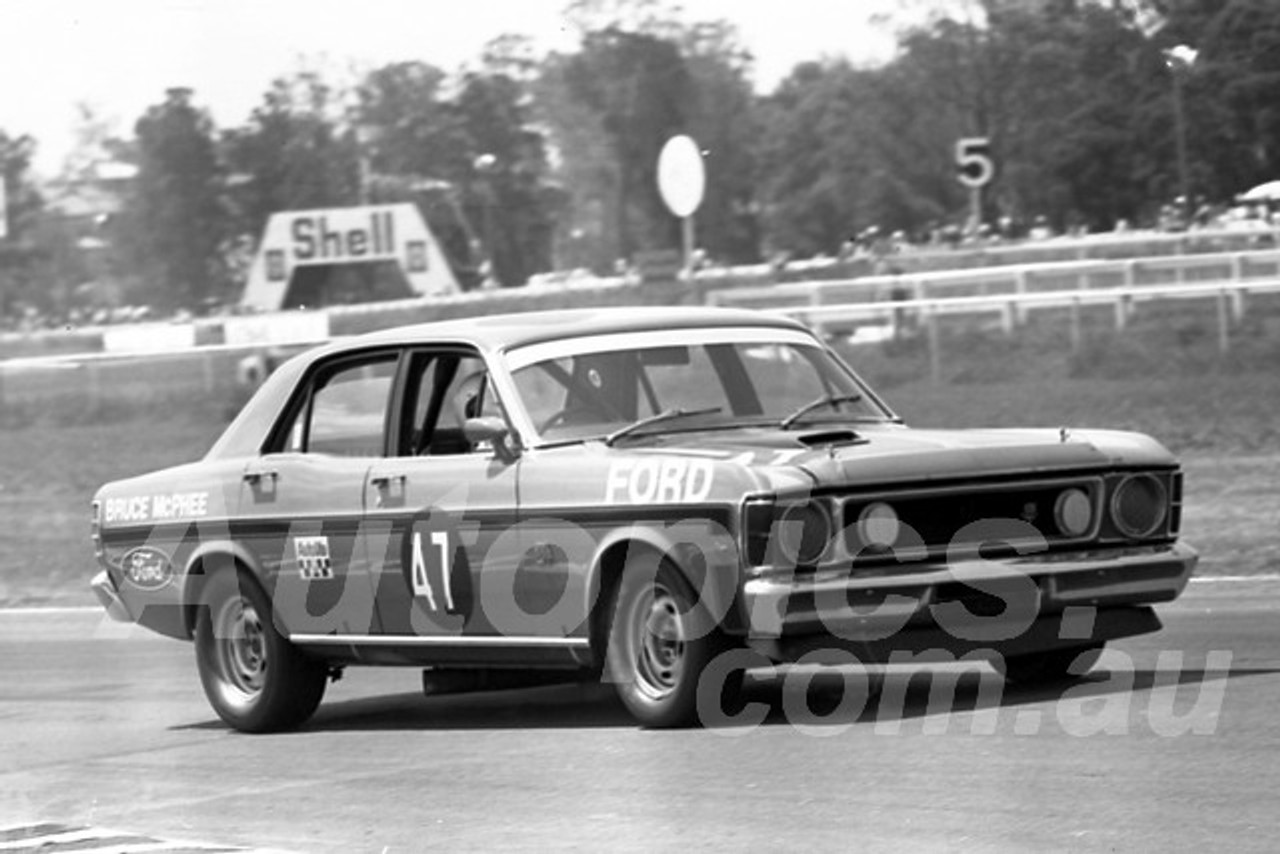700008 - Bruce McPhee, Falcon XW GTH - Warwick Farm 15th Febuary 1970