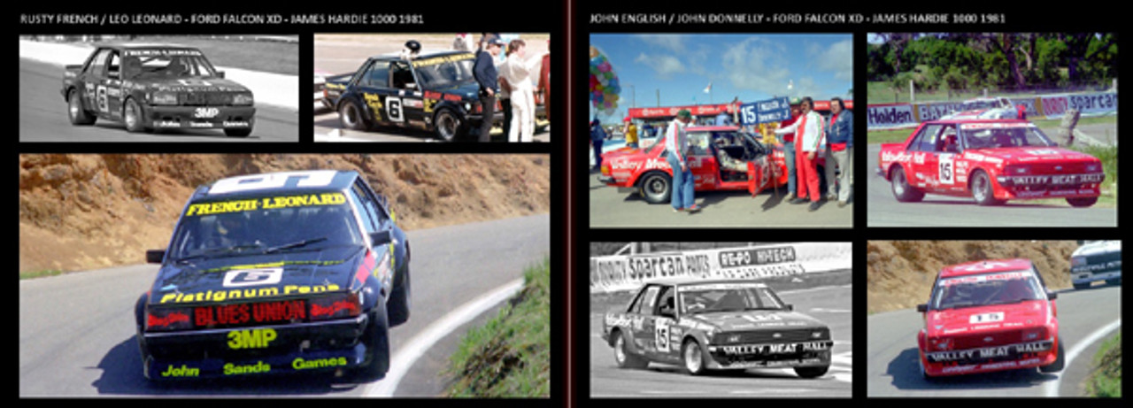 !Ford Falcon XD/XE - Bathurst '80 to '84 - 80 Page Hard Cover Book - Pictorial History
