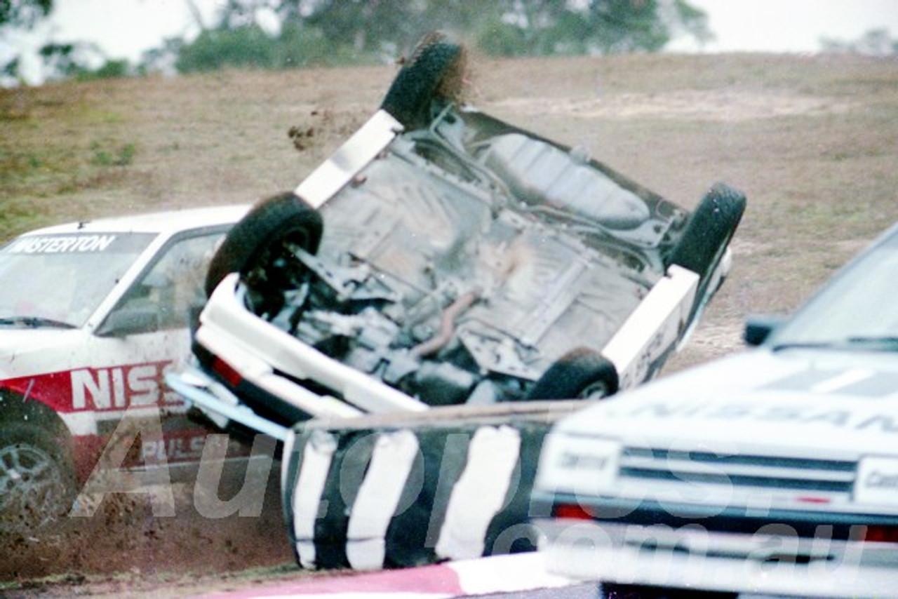 85075 - Nissan Turbo's - Amaroo  July 1985 - Photographer Lance J Ruting