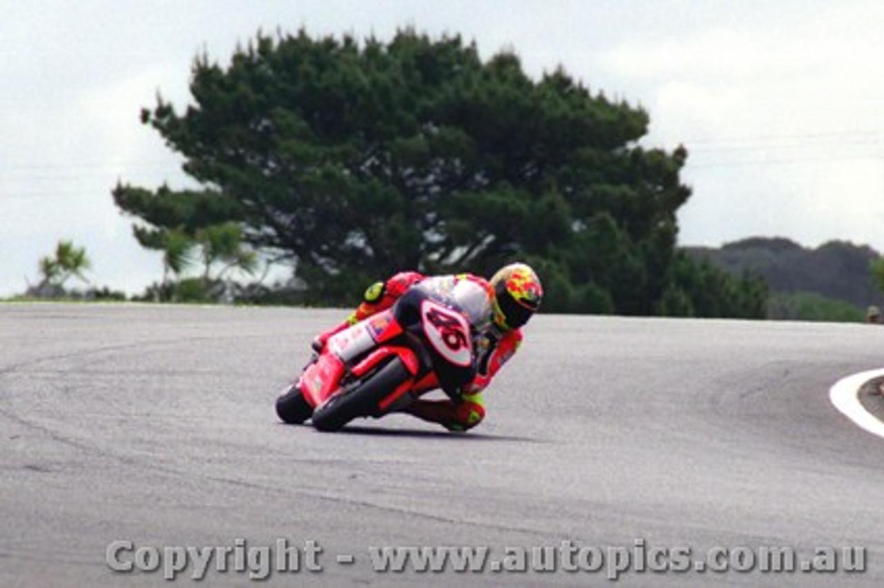 98305 - Valentino Rossi - 250cc Aprilia - Phillip Island 1998